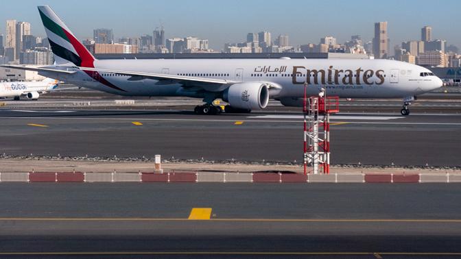 Flugzeug von Emirates